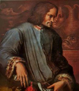 Вазари. Портрет Лоренцо Великолепного. Примерно 1534. Галерея Уффици