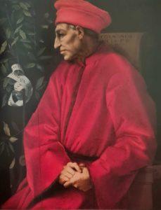 Понтормо. Портрет Козимо Медичи Старого. Примерно 1519. Галерея Уффици. Флоренция