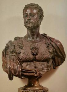 Челлини. Козимо Медичи I. Национальный музей Барджелло. Флоренция. 1546-1547