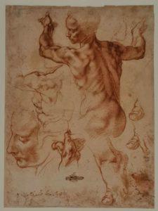 Эскиз для сивиллы Дельфийской
