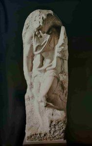 Св. Матфей. 1506. (Микеланджело примерно 30 лет)