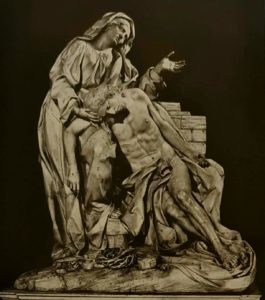 Монтаути. Пьета. 1714. Крипта капеллы Корсини. Собор Св. Иоанна Крестителя на Латеранском холме. Рим
