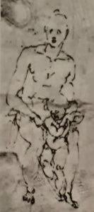 Микеланджело. Эскиз