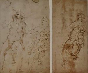 Микеланджело. Эскизы. 1504/1505