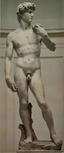Микеланджело. Давид. 1501-1504. Галерея Академии художеств. Флоренция