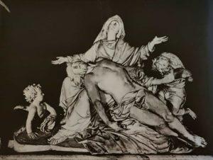 Николя Кусту. Пьета. 1712-1723. Нотр-Дам-де-Пари. Париж