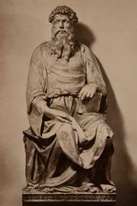 Донателло. Св. Иоанн Евангелист. 1408-1415. Музей собора Санта-Мария-дель-Фьёре. Флоренция