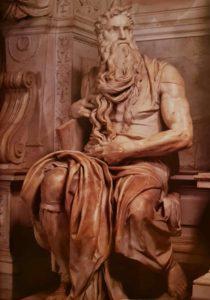 Микеланджело. Моисей. 1513–1516 гг. Церковь Сан-Пьетро ин Винколи. Рим