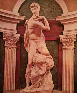 Микеланджело. Победа. 1532-1534. Палаццо Веккьо. Флоренция