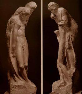 Микеланджело. Пьета Ронданини. 1552–1564. Кастелло Сфорцеско. Милан