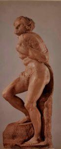 Микеланджело. Восставший раб. Около 1513–1516 гг. Лувр. Париж